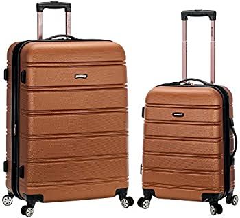 Rockland Melbourne Hardside Expandable Spinner 2-Piece Luggage Set