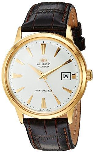 Orient '2nd Gen Bambino Version I' Reloj de Vestir japonés automático de Acero Inoxidable y Cuero