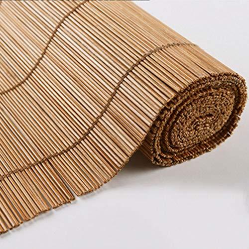 FFZC Cortina De Bambú A Prueba De Agua Al Aire Libre Tamaño Personalizado Persiana Enrollable Cortina De Bambú Resistente Al Moho Al Aire Libre Balcón Pabellón Gazebo Sombrilla Decorativa