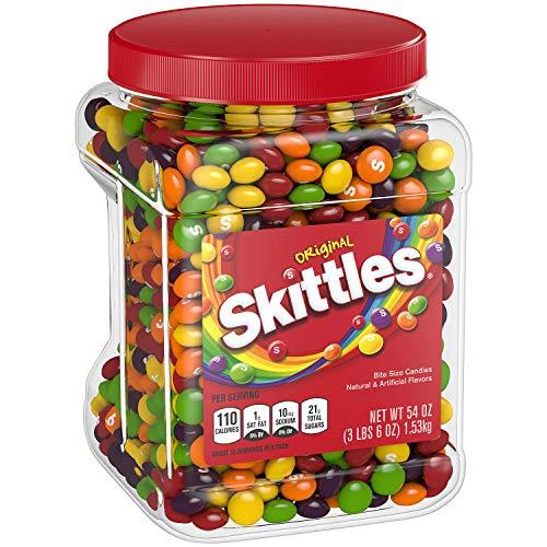 Skittles Original Candy, 1 - 54 Ounce Jar