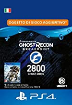 Ghost Recon Breakpoint - 2400 (+400) Ghost Coins 2800 Coins | Codice download per PS4 - Account italiano