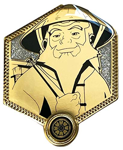 Golden Iroh - Airbender Collectible Pin