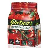 Gärtner's Tomatendünger 1,75 kg I NPK Dünger für alle Tomatensorten I Dünger für Tomaten, Gurken, Paprika und Gewürzkräuter I Spezialdünger NPK 8+4+10 I Für bis zu 15 Tomatenstöcke