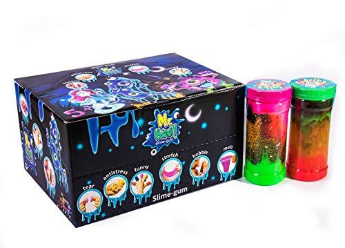 Mr Boo 80037 - Juego de plastilina para niños (4 unidades de 330 g)