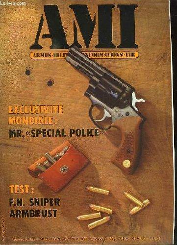AMI LE MAGAZINE INTERNATIONAL DES ARMES N° 20 MAI 1983. SOMMAIRE: MR SPECIAL POLICE, FN SNIPER ARMBRUST, LES ARMES JAPONAISES, LE CHOCAGE DES CANONS, LES OBUS DU 18 POUNDER BRITANNIQUE...