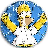 Simpson Wanduhr 25 4  cm Will Be Nice Gift und Rau