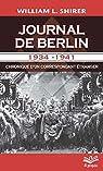 Journal de Berlin 1934-1941 par Shirer