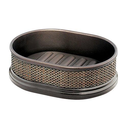 iDesign 39080EU Twillo Seifenschale, bronze