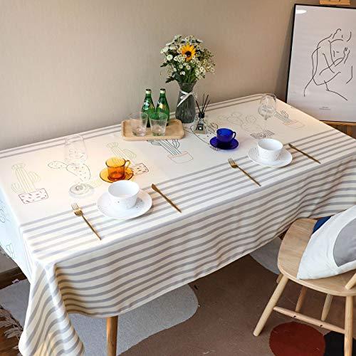 Impermeable Poliéster Oficina Mesa De Centro Mesa De Comedor Cubierta Mantel Pequeña Mesa De Comedor Fresca Simple Mantel De Café Esponjoso Mantel 60x60cm(WxH) B