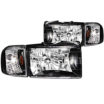 Anzo USA Dodge Ram Crystal with Corner Headlight Assembly
