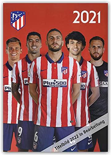 Atletico Madrid 2022 - A3-Posterkalender: Original Danilo-Kalender [Mehrsprachig] [Kalender]