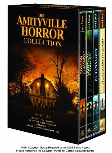 The Amityville Horror Collection (The Amityville Horror/ The Amityville Horror II: The Possession/ The Amityville Horror III: The Demon/ Bonus Disc - Amityville Confidential) by MGM