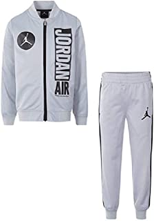 NIKE Air Jordan 2-Pc. Jacket & Jogger Pants Set,(Baby Boy's) Color Wolf Grey