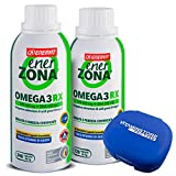 Enerzona Enervit Omega 3 RX 240 cpr + 120 cpr + pastillero Vitaminstore ● Suplemento alimenticio a...