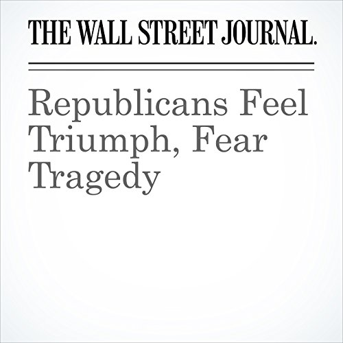Republicans Feel Triumph, Fear Tragedy copertina