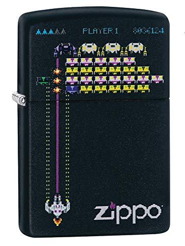 Zippo Space Game Feuerzeug, Messing, Design, 5,83,81,2