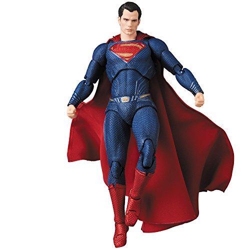 Entertainment Earth Justice League Movie Superman Mafex Action Figure image