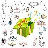 Lucky Box - Caja ciega para joyas, collar, anillo, pulsera, reloj, ritmo cardíaco, muy agradable, excelente relación calidad-precio, para esposa y novia