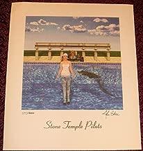 STONE TEMPLE PILOTS STP Tiny Music Litho SIGNED LP ALBUM COVER ART LITHOGRAPH