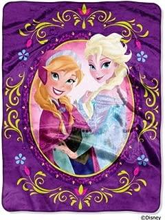 Disney Frozen Sisters Girls Throw Blanket