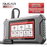 mucar CS99 Valise Diagnostic Auto Multimarque, OBD2 Diagnostic Français, Lecteur de Code, Tout Le...