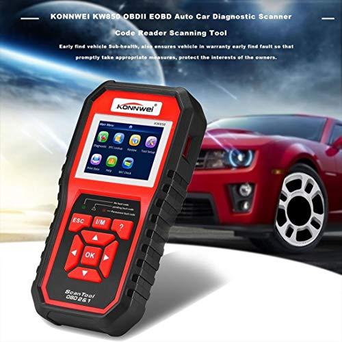 ToGames-IT KONNWEI KW850 OBDII EOBD Auto scanner diagnostico per auto scanner lettore di codici