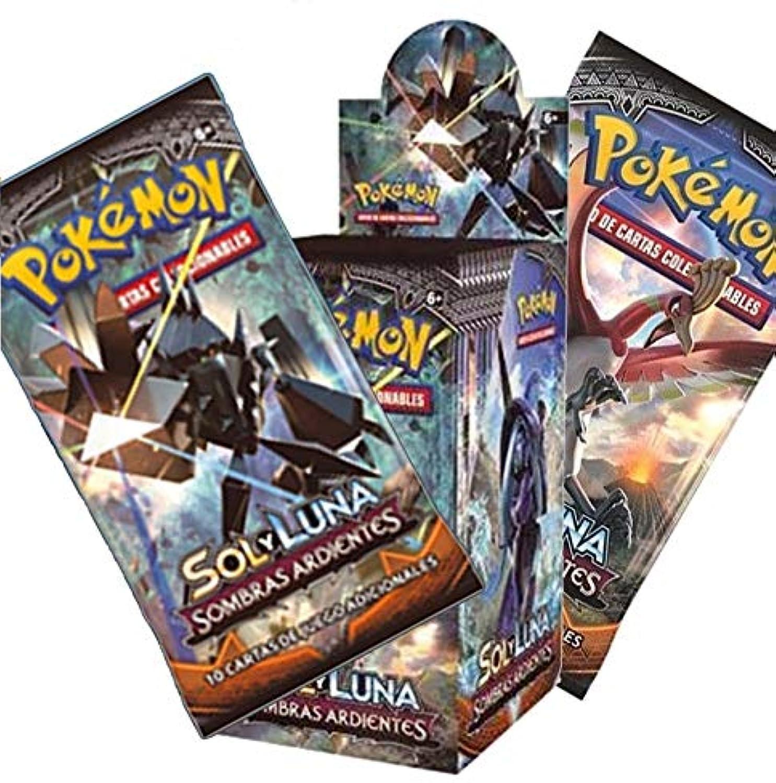 Pokémon The Company Box mit 36 Umschlgen, Motiv  Sonne und Mond  Lidschatten auf Spanisch, Farbe (POSMBS02D