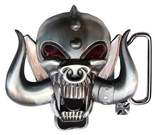 Motorhead Heavy Metal Rock Musik Metall Gürtelschnalle Skull Lemmy Warhead
