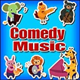 Music, Comedy Theme - Fetch That Bone: Comic Chase with Horn and Piano Accents, Cartoon Comedy Music: Piano