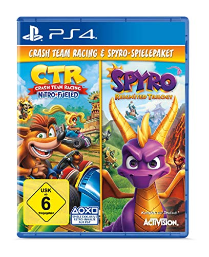 Spyro Reignited Trilogy + Crash Team Racing Nitro Fueled Bundle - [PlayStation 4]