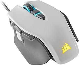 Corsair SABRE RGB PRO CHAMPION SERIES FPS/MOBA Gaming Mouse, Black, Backlit RGB LED, 18000 DPI, Optical