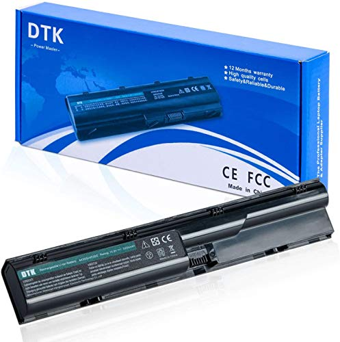 DTK Batería para HP Probook 4540S 4530S 4535S 4330S 4331S 4430S 4431S 4435S 4436S 4440S 4441S 4445S 4446S 4545S Series, P N: 633805-001 PR06 PR09 Baterías portátiles y netbooks [10.8V 5200mAh]