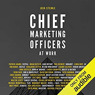 Chief Marketing Officers at Work audiobook cover art