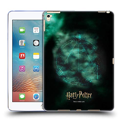 Official Harry Potter Triangle Symbol Deathly Hallows XXXV Soft Gel Case Compatible for Apple iPad Pro 9.7 (2016)