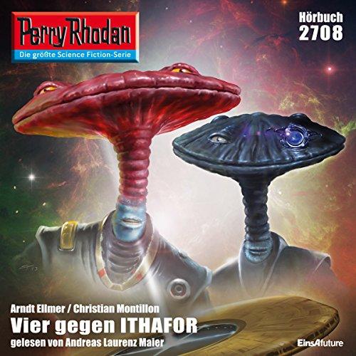 Vier gegen Ithafor audiobook cover art