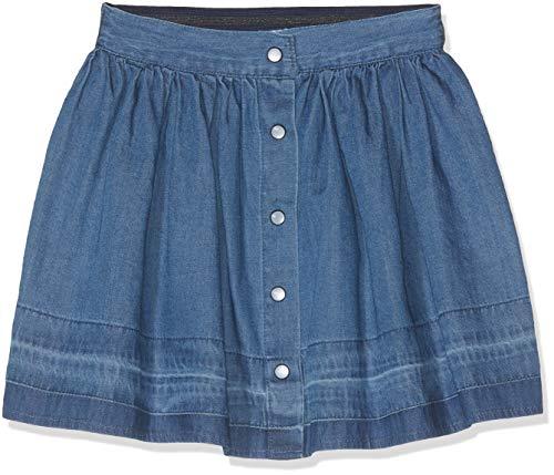 NAME IT NAME IT Mädchen Rock NMFBRIELLE DNM 2170 Skirt, Blau (Medium Blue Denim), (Herstellergröße: 92)