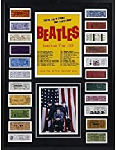 The Beatles American Tour 1964 Replica Ticket Collage