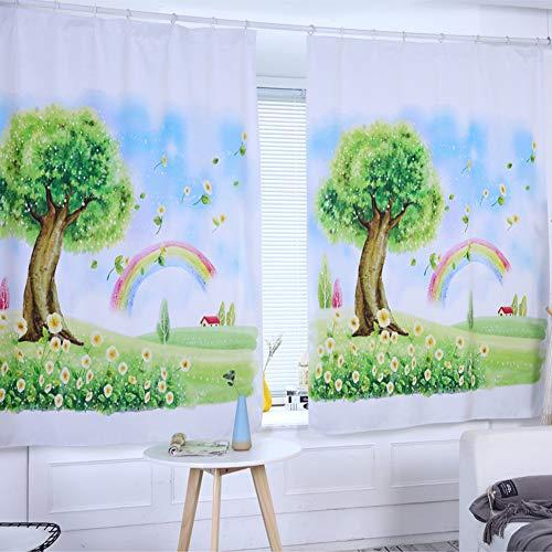 FairOnly Digital Printing Shading Gordijn voor Woonkamer Home raamdecoratie Handige Levensstijl