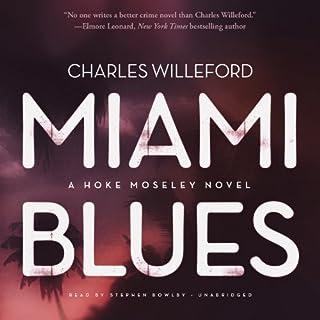 Miami Blues audiobook cover art