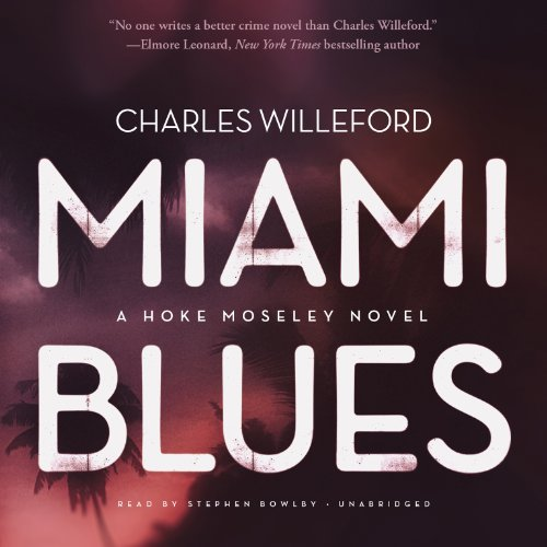 Miami Blues audiobook cover art