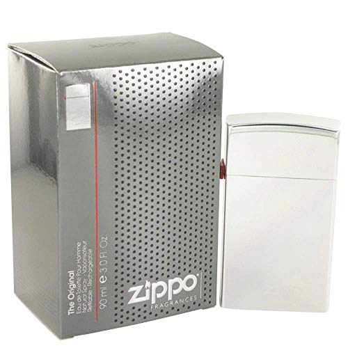 Zippo Silver by Zippo Eau De Toilette Refillable Spray 3 oz / 90 ml (Men)