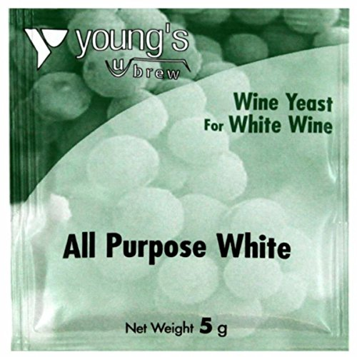 Youngs All Purpose White Wine yeast 5g sach