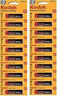 Kodak Zinc Heavy Duty Batteries AAX10 Battery X 02Card