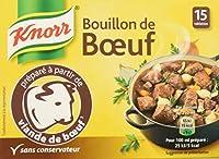 Le bouillon de Bœuf de Knorr, un produit incontournable qui deviendra votre petit secret pour des plats encore plus savoureux Un bouillon cube pratique pour rehausser et sublimer vos préparations culinaires Idéal pour twister vos pâtes, votre riz, vo...