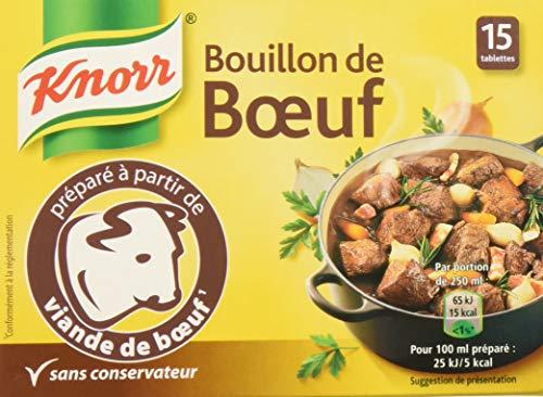 Knorr Bouillon Boeuf 15 Cubes
