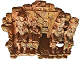 MZD Decoración de templo de ruinas del antiguo Egipto para acuario terrario de peceras