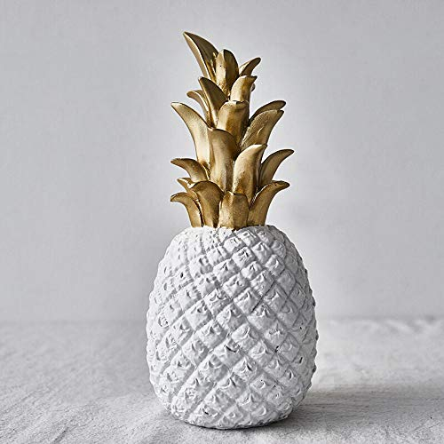 QIGE Europese creatieve simulatie ananas ornamenten thuis accessoires woonkamer TV kast ambachten hars kleine gouden ananas ornamenten