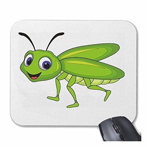 Reifen-Markt Mousepad (Mauspad) LUSTIGE Fliege MÜCKE ZWEIFLÜGLER FLIEGEN STUBENFLIEGE SCHMEISSFLIEGE EINTAGSFLIEGE für ihren Laptop, Notebook oder Internet PC (mit Windows Linux usw.) in Weiß