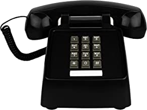 $39 » Benotek Landline Phone for Home Retro Amplified Single Line Corded Desk Telephone with Extra Loud Ringer Land Line House P...