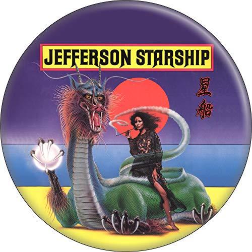 Jefferson Starship - Spitfire Album Cover - 1.5' Round Button